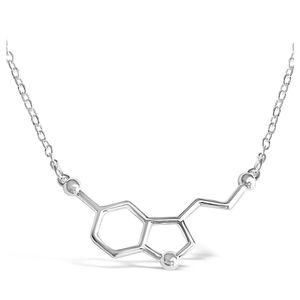Jewelry - 3/$24! Serotonin Happiness Molecule Necklace